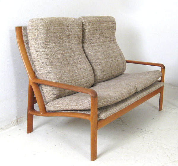 Teak Loveseat