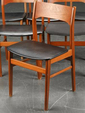 Teak Dining Chairs Mostly Danish Furniture Ottawa