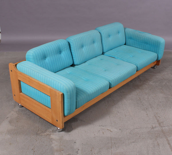 Pine Loveseat on Weels