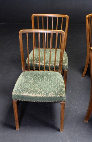 Stained Beech Dining Chairs