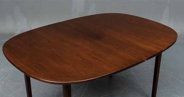 Rungstedlund' Mahogany Dining Table by Ole Wanscher