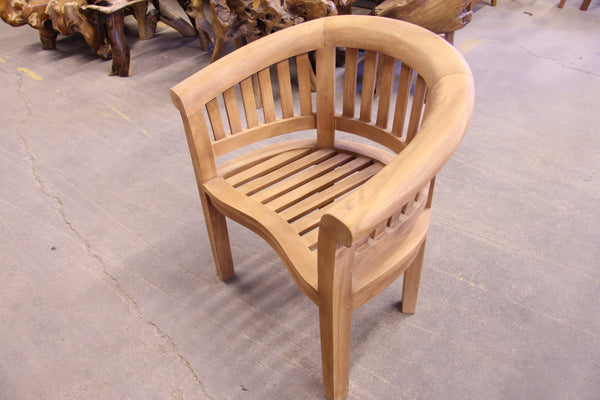 Banana Chair - Heavy Solid Teak frame