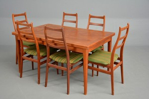 High Backed Teak Dining Chairs