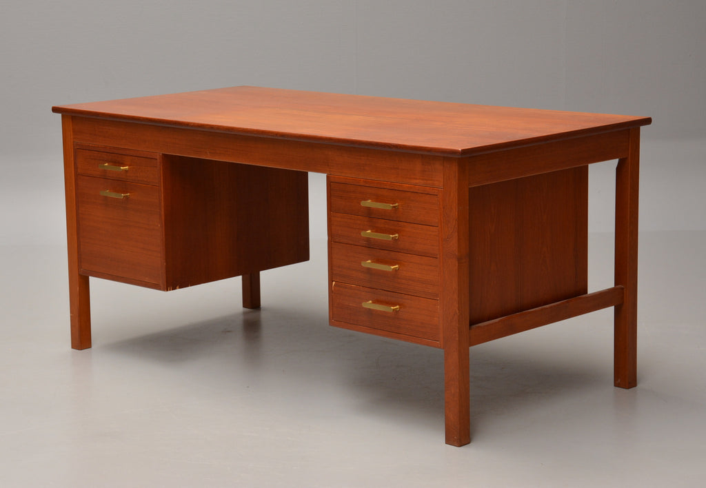 Teak Desk Mostly Danish Furniture Ottawa