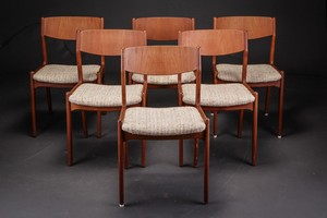 Teak Dining Chairs by Sorø Stolefabrik