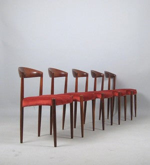 Dark Teak Dining Chairs