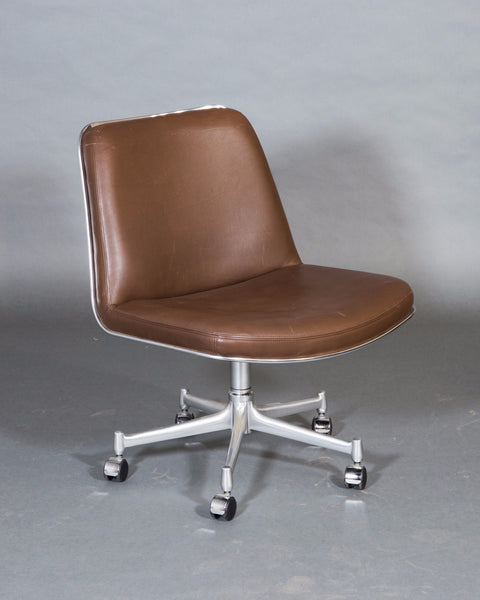 Leather Office Chair  by Fabricius and Kastholm
