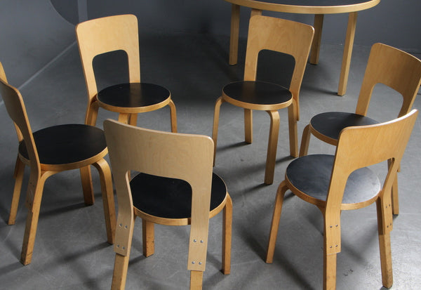Dining Chair by Alvar Aalto