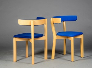 Dining Chairs in Maple by Jurgen Gammelgard