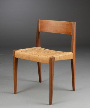 Poul Cadovius 'Pia' Teak Dining Chair with Papercord Seat