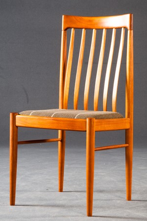 Teak Dining Chairs by HW Klein for Bramin