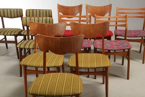 Assorted Dining Chairs in Teak