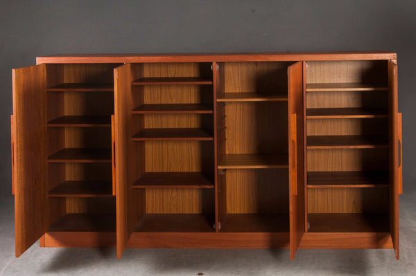 Teak High Sideboard / Cabinet