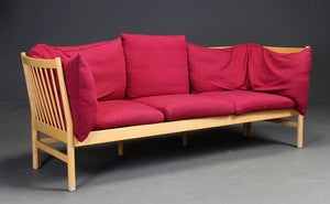 Beech Sofa Bordeaux Wool Skippers Furniture