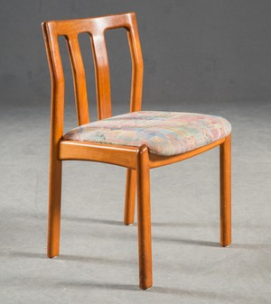 Teak Dining Chairs by Dyrlund