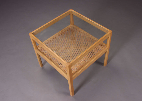 Beech / Cane Coffee Table