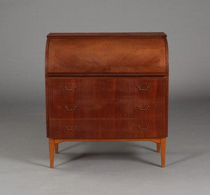 Teak Secretary with Beech Legs