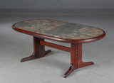 Coffee Table with Ceramic Tile Top