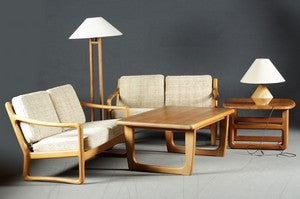 SolidTeak Coffee Tables by CFC Silkeborg