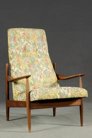 Teak High-backed Armchair