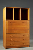 Teak Tall Chest of Drawers