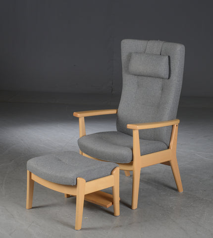 Farstrup Armchair With Footstool