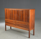 Mahogany High Sideboard