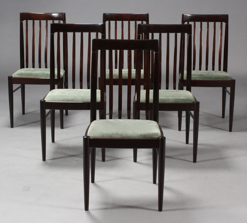 Mahogany Dining Chairs by H.W. Klein for Bramin   Mostly ...