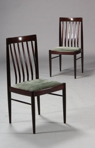 Mahogany Dining Chairs by H.W. Klein for Bramin