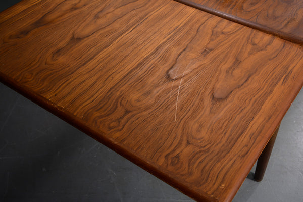 Teak Dining Table With Pull Out