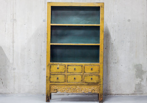 Oriental Yellow Cabinet