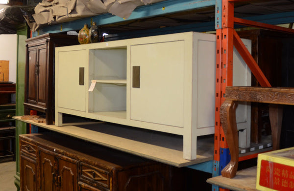 Oriental White Low Cabinet
