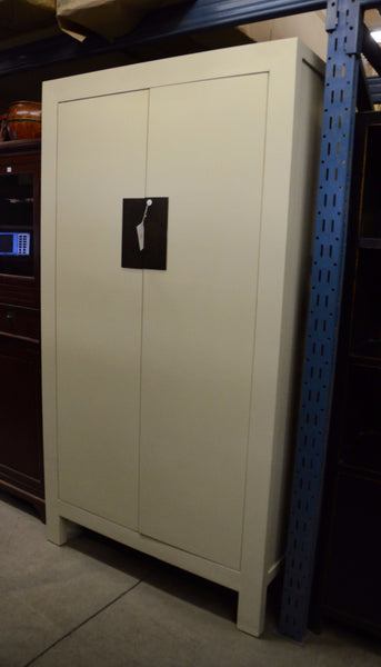 Oriental Large White Armoire