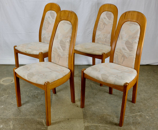 High-backed Teak Dining Chairs