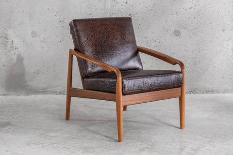 Alligator Teak Armchair