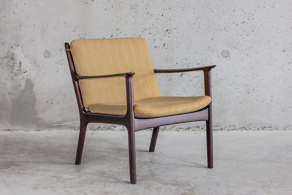 Ole Wanscher Armchair in Mahogany