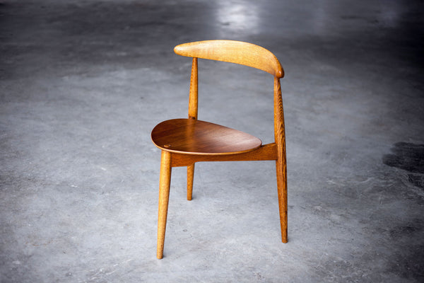 Three Legged Heart Chair by Hans Wegner