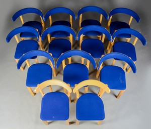 Jorgen Gammelgard Chairs in Maple