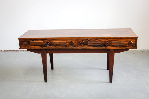 Low Rosewood Coffee Table