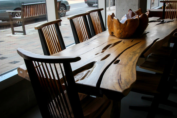 Tamarind Live Edge Table