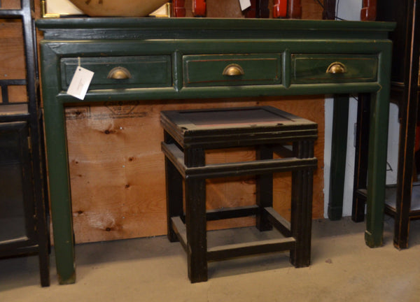 Oriental Green Console