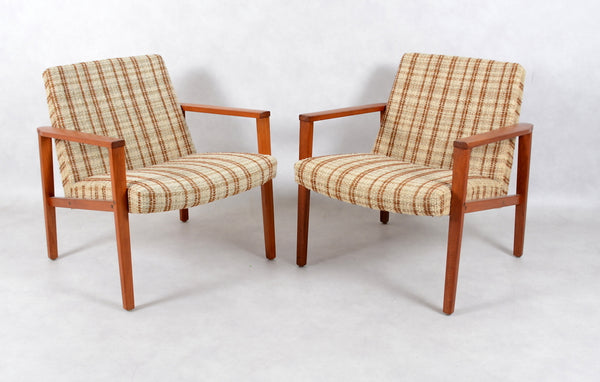 Swedish Solid Teak Easy Chair