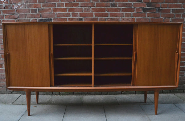 Teak High Sideboard Omann Junior Model 19