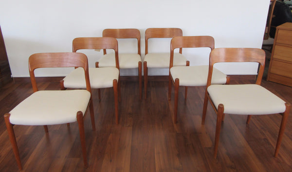 Niels O. Moller Teak Dining Chairs