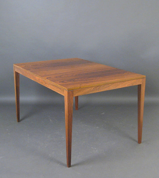 Gorgeous Walnut Danish Dining Table, 50's