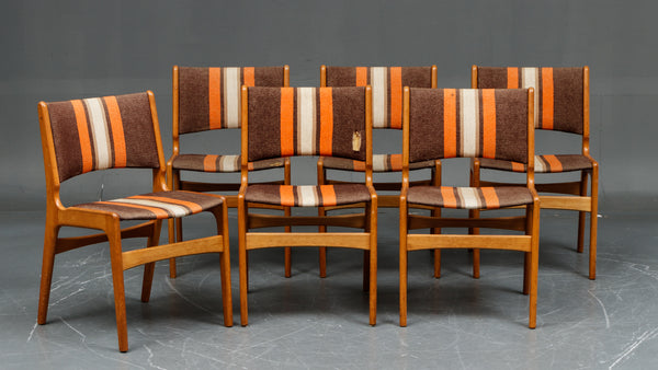 Eric Buch #89 Dining Chairs in White Oak