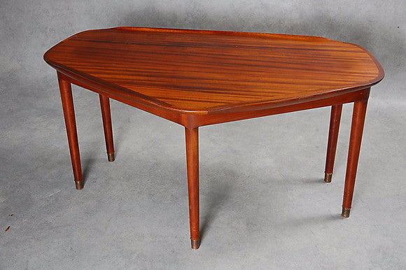 Triangle Mahogany Coffee Table