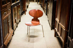 Ant Chair by Arne Jacobsen in Rosewood