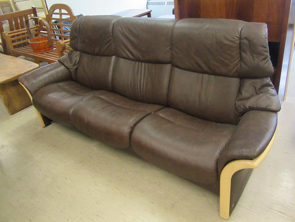Stressless Leather Sofa by Ekornes