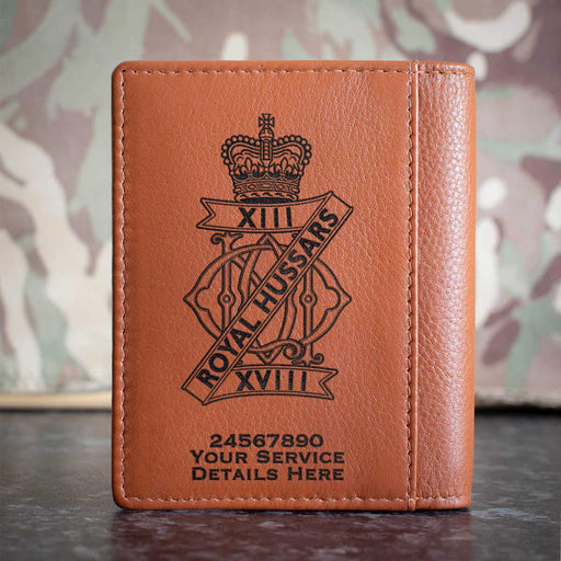 13th 18th Royal Hussars Credit Card Wallet